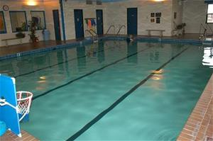The pool inside the Minneapolis Wellness Center